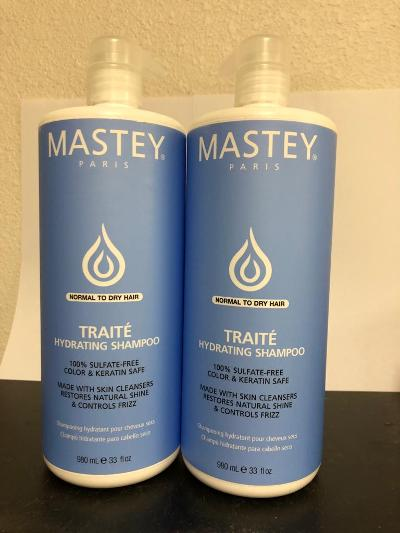 Mastey_Traite Cream Shampoo for Normal to Dry Hair 32oz (Pack of 2)