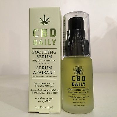 Earthly Body CBD_CBD Daily Soothing Serum with essential oils